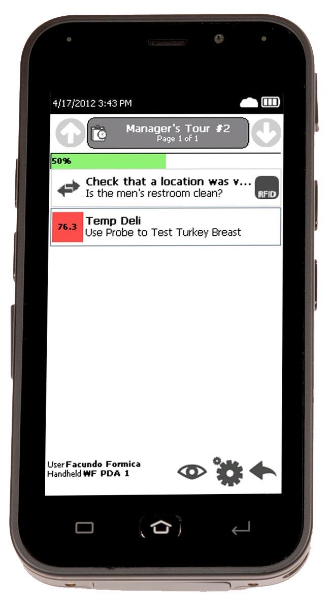 SureCheck Screen